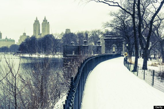 central park winter