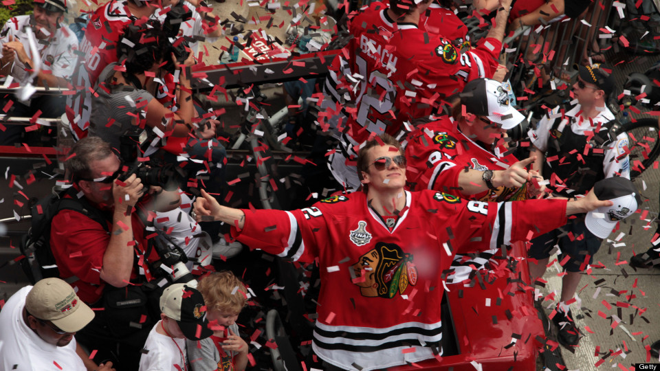 blackhawks parade 2010