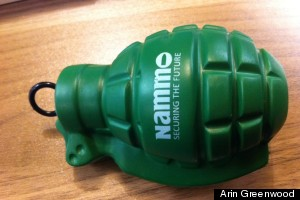 grenade toy