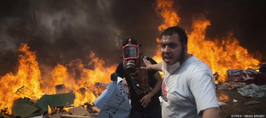 Guerra civil también en Egipto