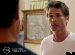 franklin and bash finale rob lowe