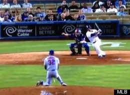 Latroy Hawkins Hit In Groin