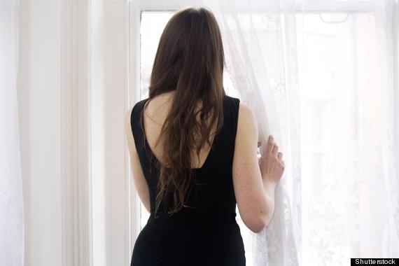 women back window