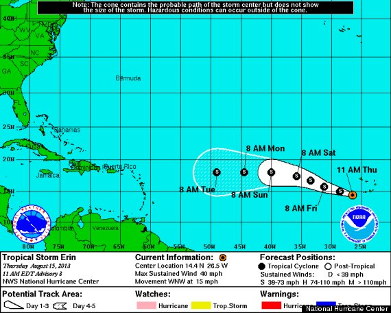 tropical storm erin