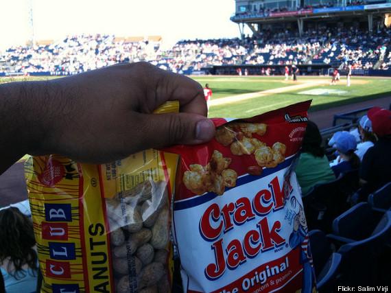peanuts and cracker jacks