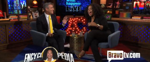OPRAH ANDY COHEN