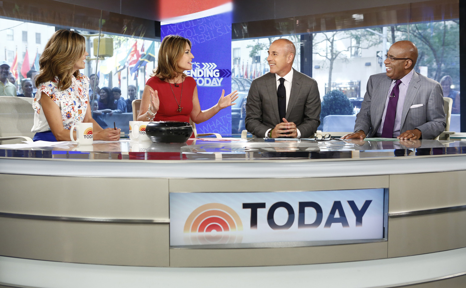 'Today' Bids Farewell To Set In Studio 1A (VIDEO)   HuffPost