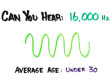 How Old Are Your Ears? Hearing Test Video Will Terrify You