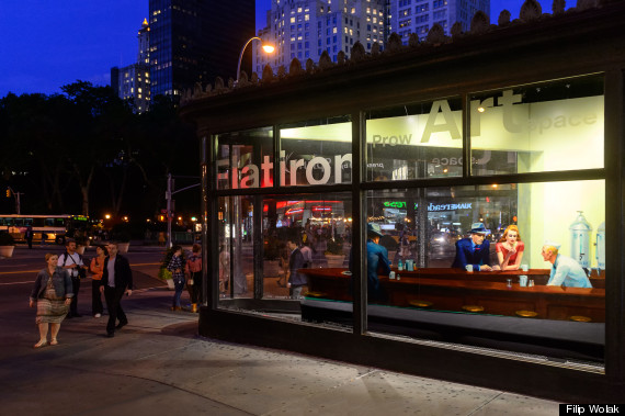 Famous 'Nighthawks' Painting Has Been Recreated As A 3D Installation