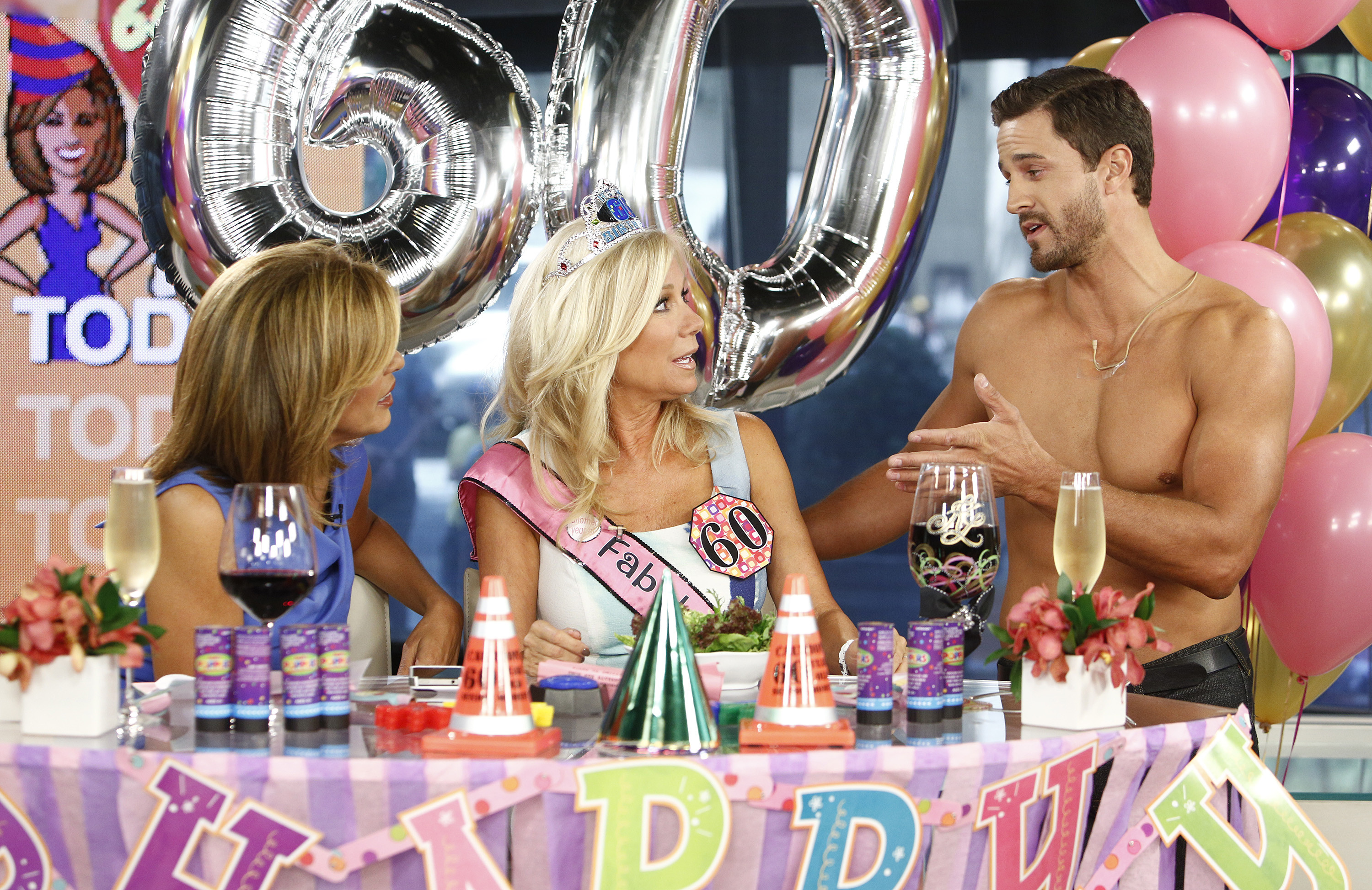 Hoda Kotb Goes All Out For Kathie Lee Gifford S 60th Birthday Video