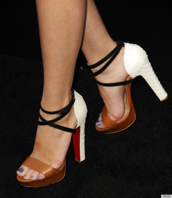 Bella Thorne's Christian Louboutin sandals