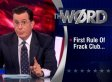Stephen Colbert On Fracking Gag Order: 'Paying For Silence Is Catching On Like Tapfire' (VIDEO)