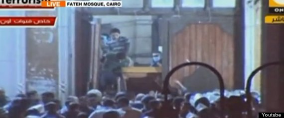 cairo mosque siege