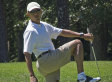 Obama Golfs With Larry David