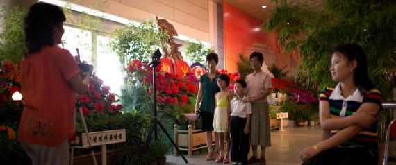 NORTH KOREA FAMILY