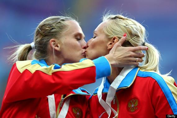 russia kiss
