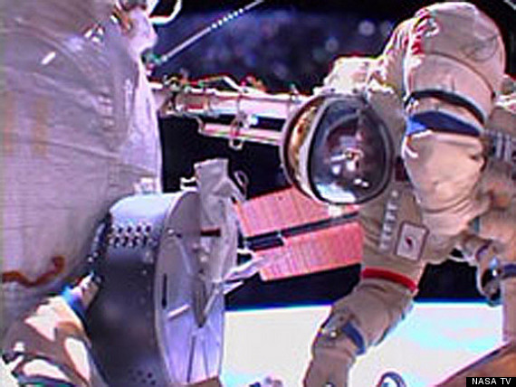 cosmonaut spacewalk