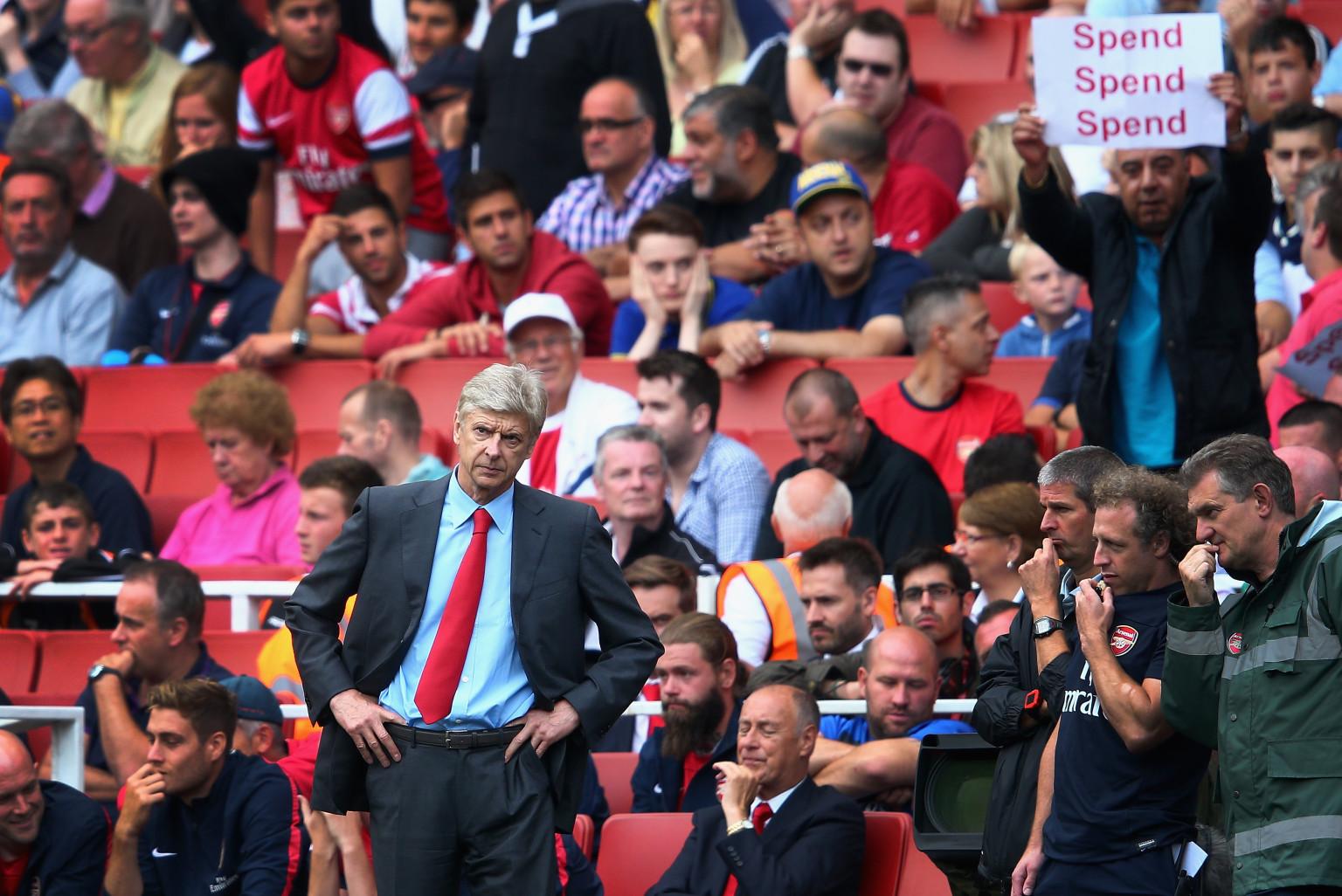 Image result for Wenger Arsenal fans