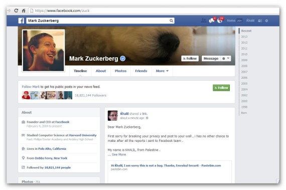 facebook hacker mur zuckerberg