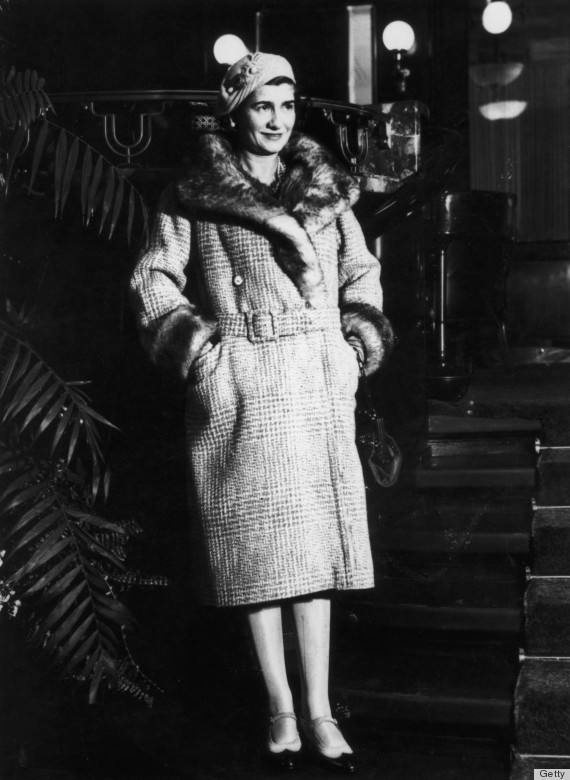 coco chanel photos prove the designer was her own muse huffpost. Black Bedroom Furniture Sets. Home Design Ideas