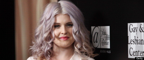 kelly osbourne gray hair
