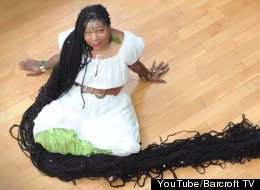 The World's Longest Dreadlocks Might Leave 'Black Rapunzel' Paralyzed