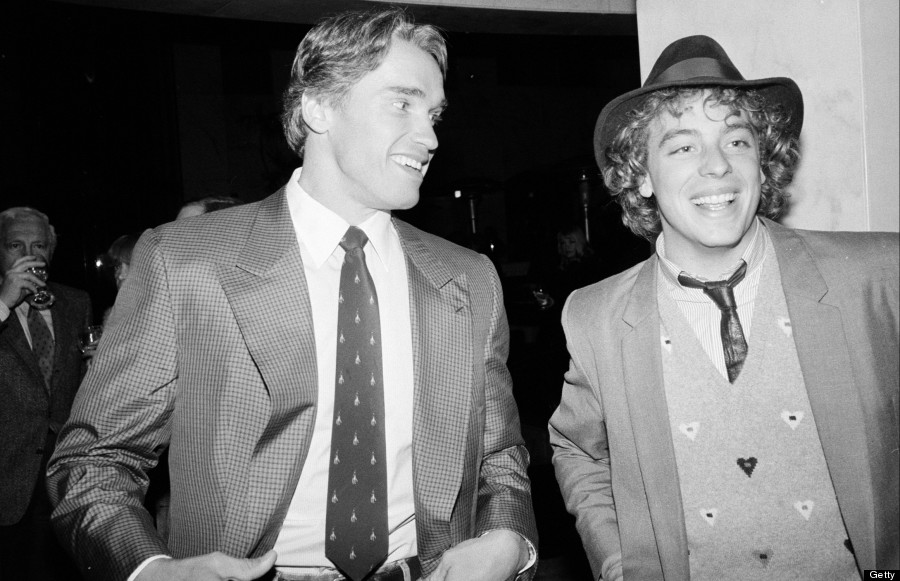 arnold schwarzenegger and leif garret