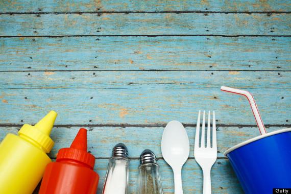 picnic utensils