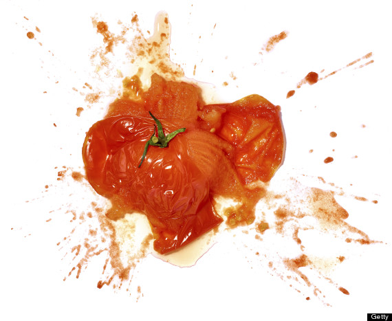crushed food