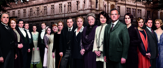 MEN DOWNTON ABBEY