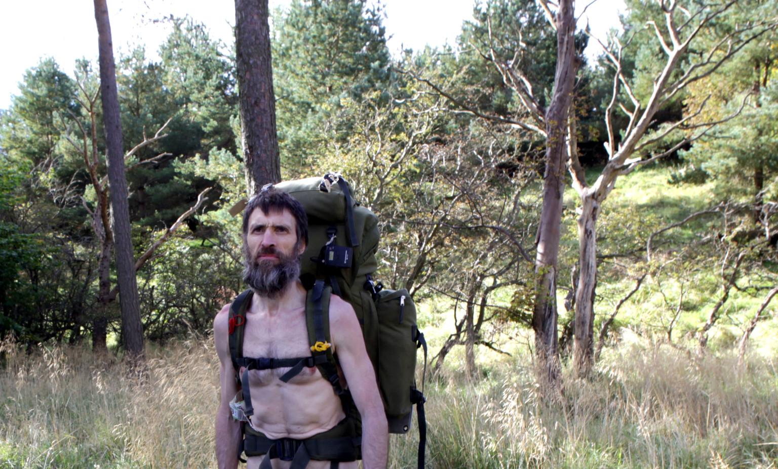 videos of girls hiking naked