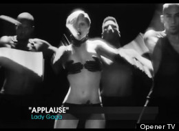 lady gaga estrena applause