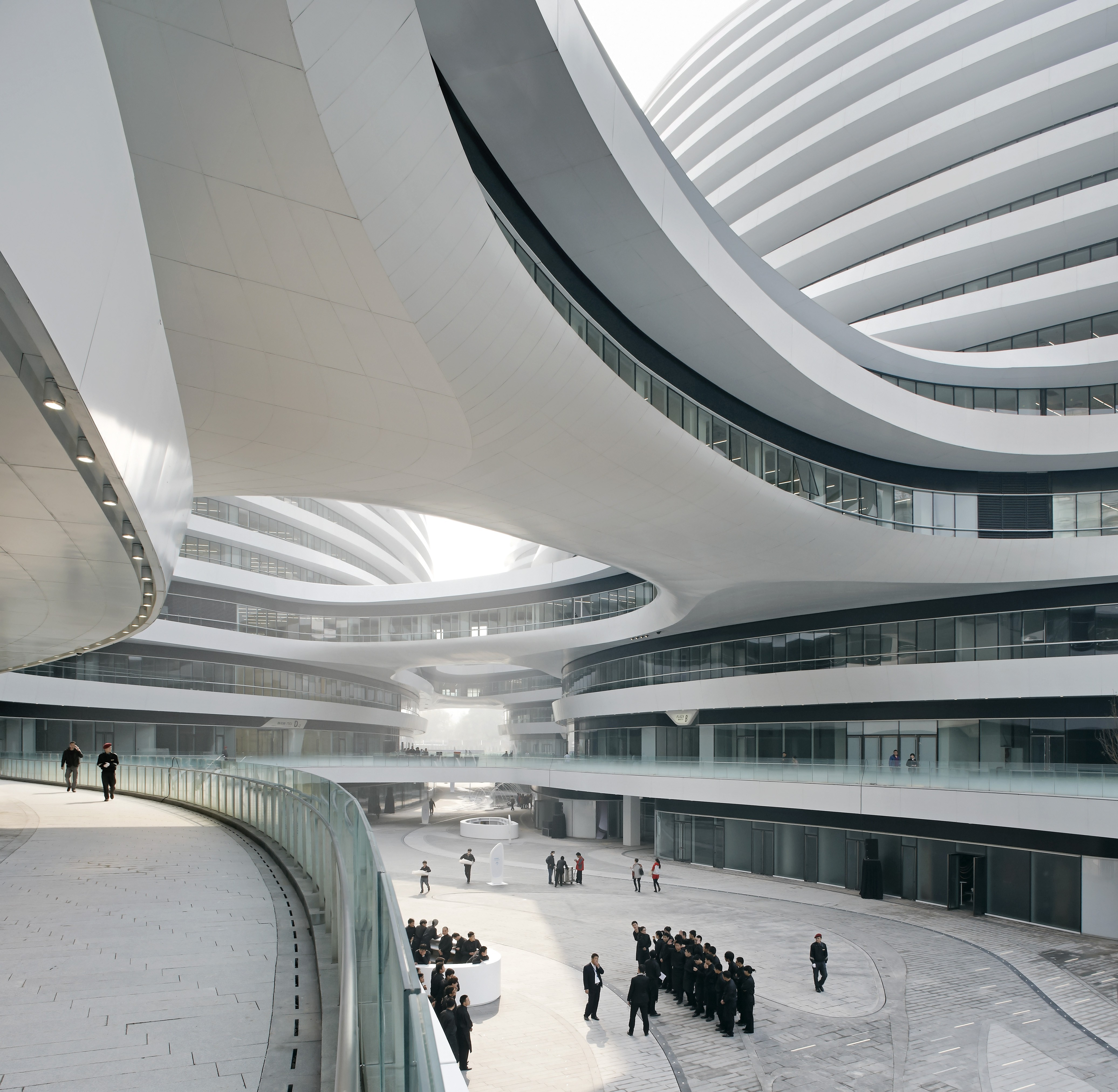 architectural buildings designs. Galaxy Soho Architectural Buildings Designs
