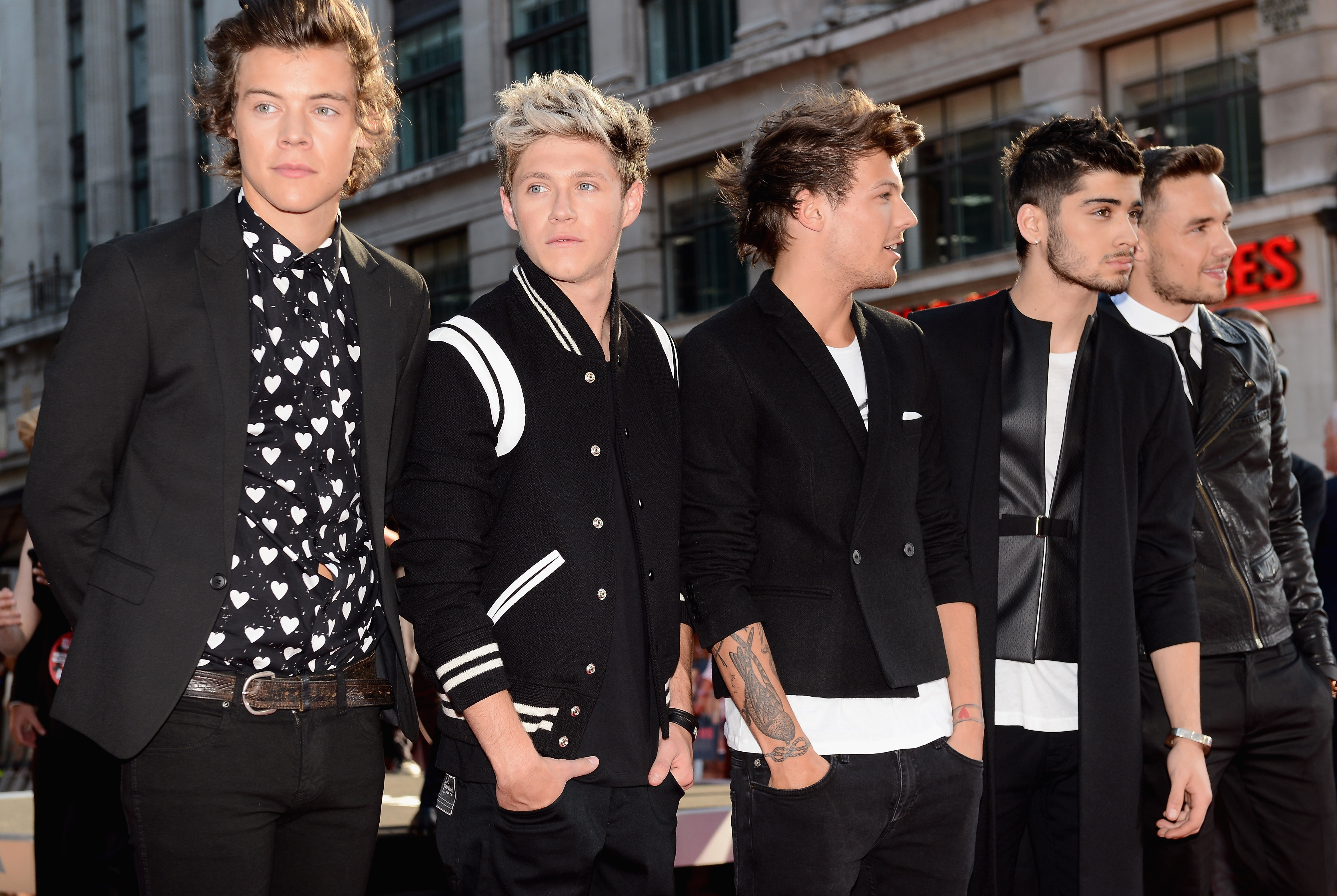 One Direction This Is Us Photos From The Premiere Huffpost