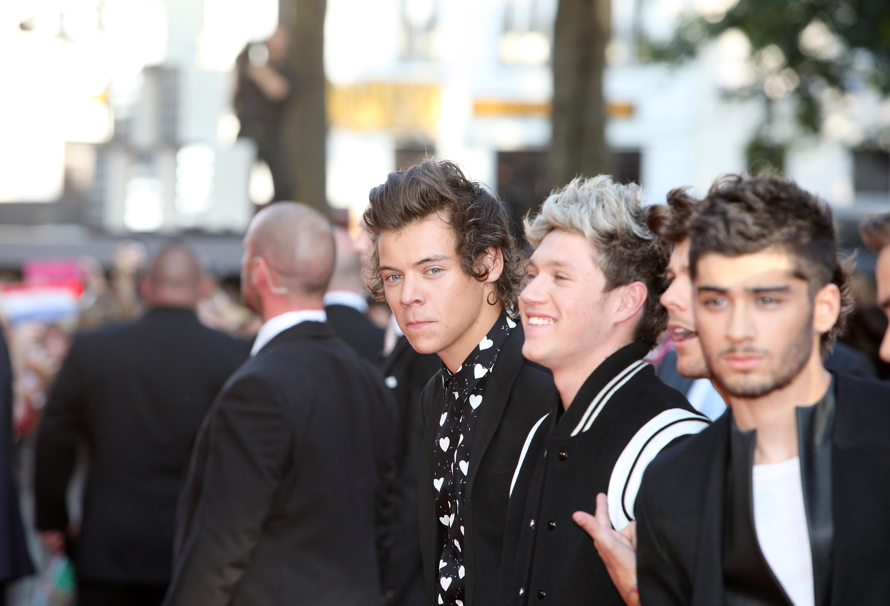 one direction movie premiere
