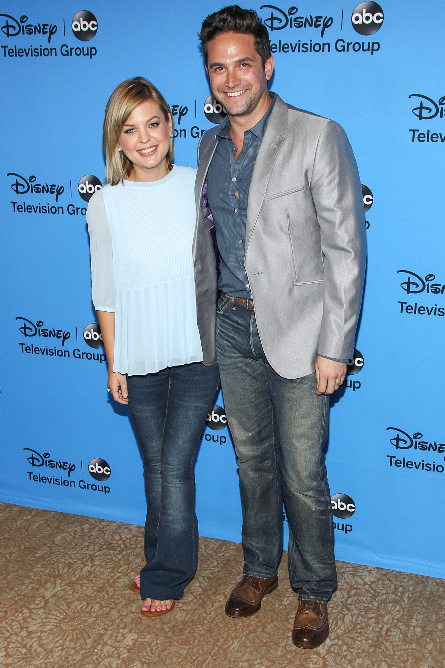 Kirsten Storms and husband