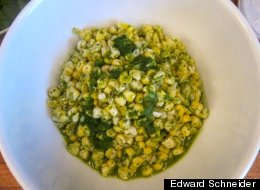 Cooking Off The Cuff: Corn, Cilantro and Lime - But Not Salsa