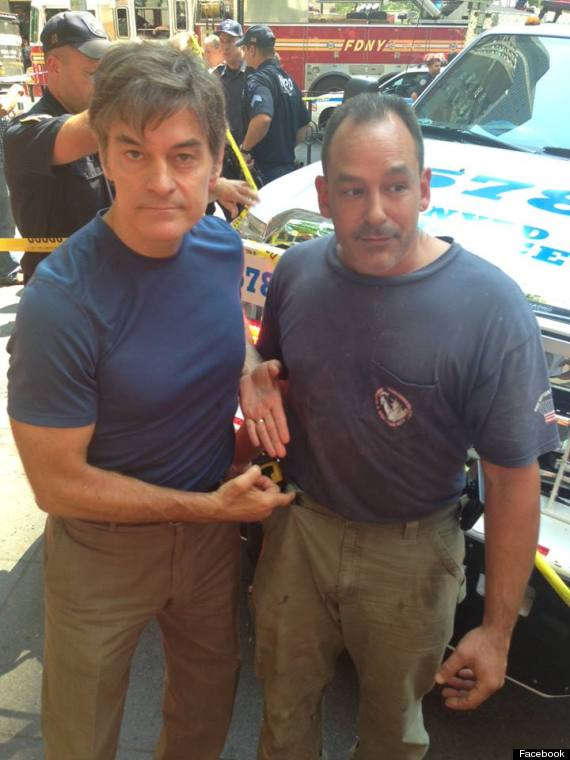 dr oz and david justino