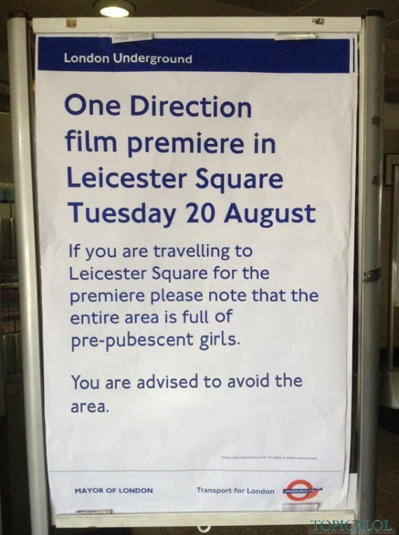 one direction tube poster huffington post