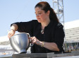 Alex Guarnaschelli And Marc Maron Talk 'Iron Chef' And More On WTF (AUDIO)