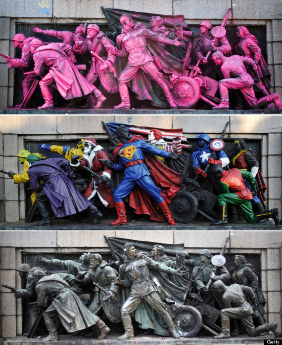 soviet monuments vandalizm in bulgaria-ის სურათის შედეგი