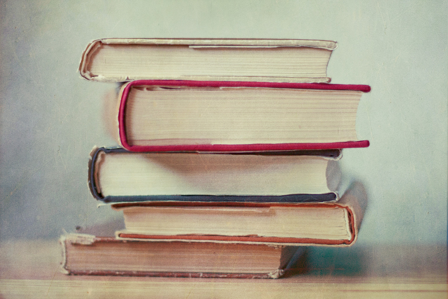 books novels literary stack read reading literature five photograph gen