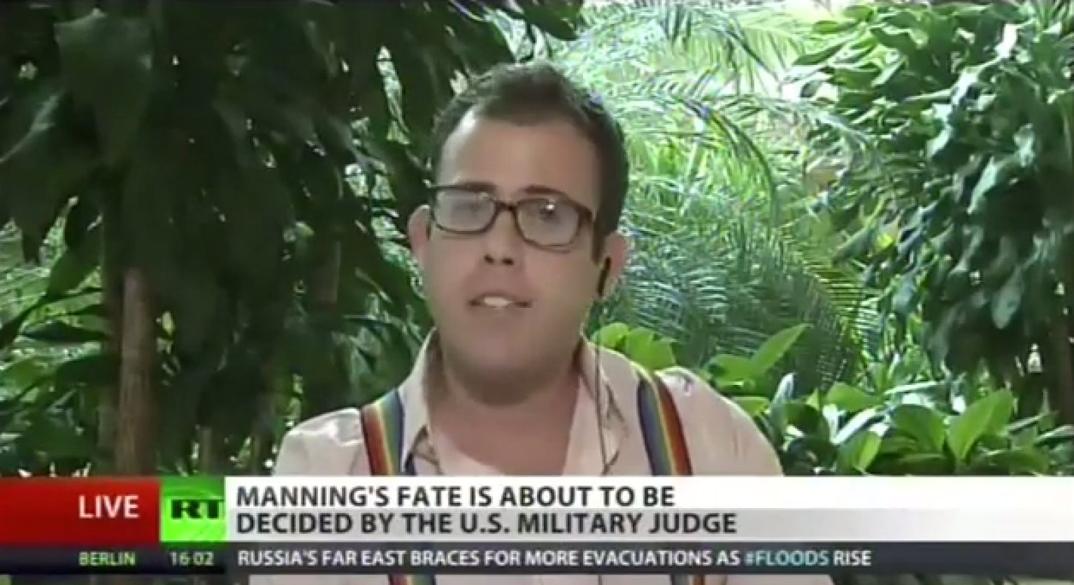 News Reporter Gay 108