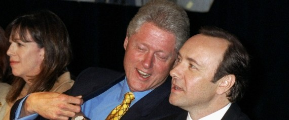 BILL CLINTON KEVIN SPACEY