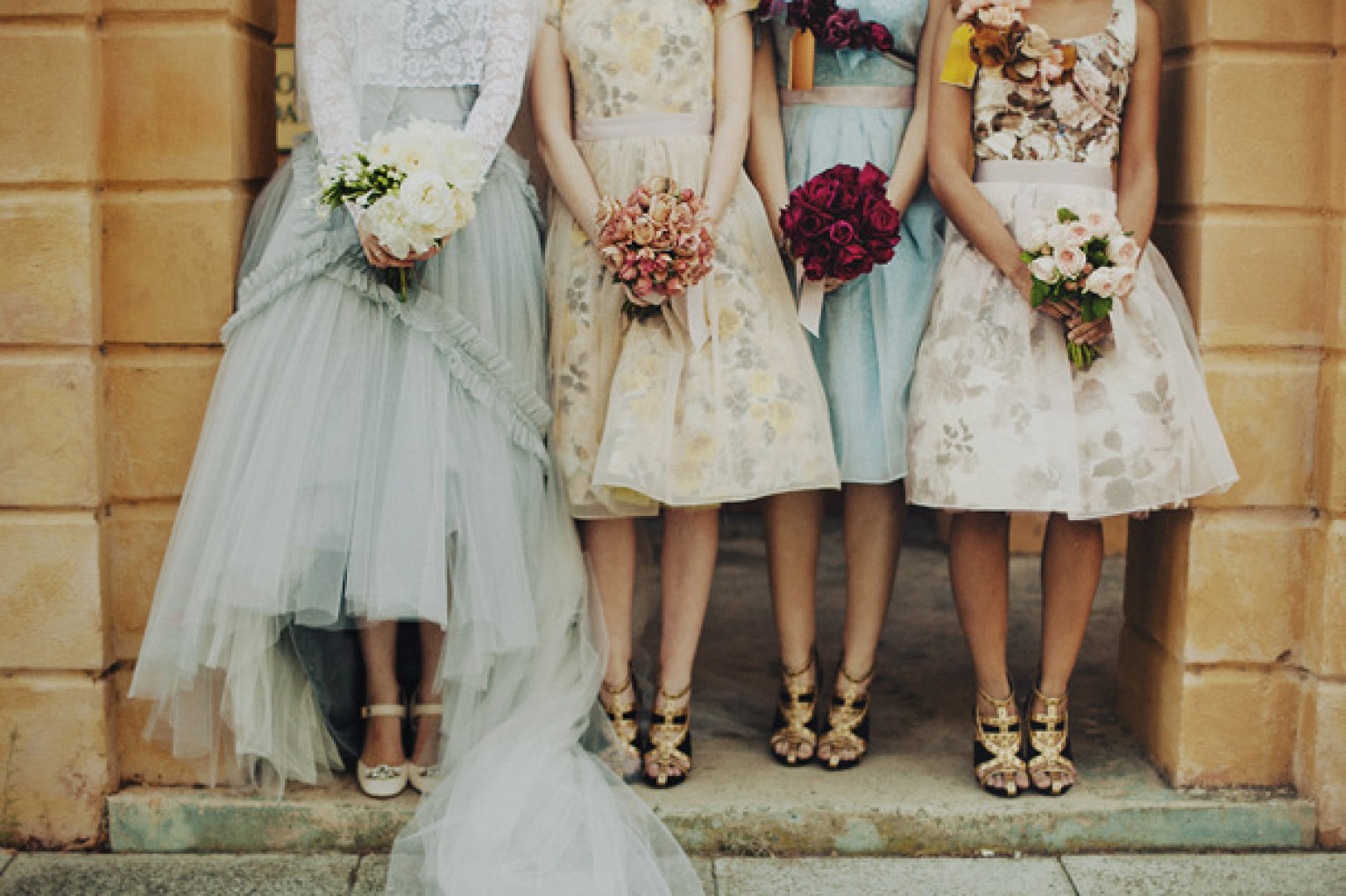 Vintage Bridesmaid Dresses That Don&-39-t Look Like Costumes (PHOTOS ...