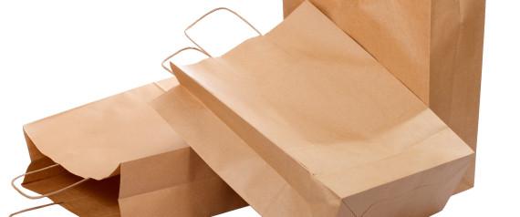 sac papier fond plat