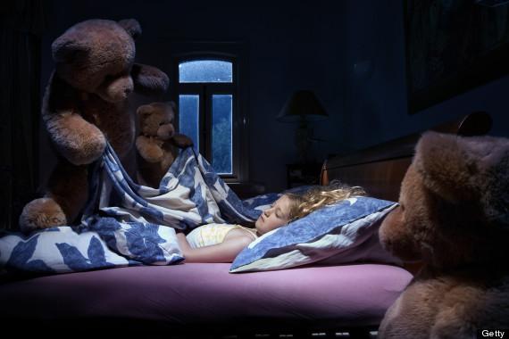 scary teddy bear