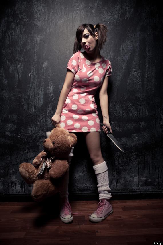creepy teddy bear