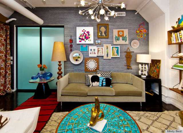 Jonathan Adler 39 S New York Office Space Is Just Like Him Colorful Chic And Kind Of Kooky