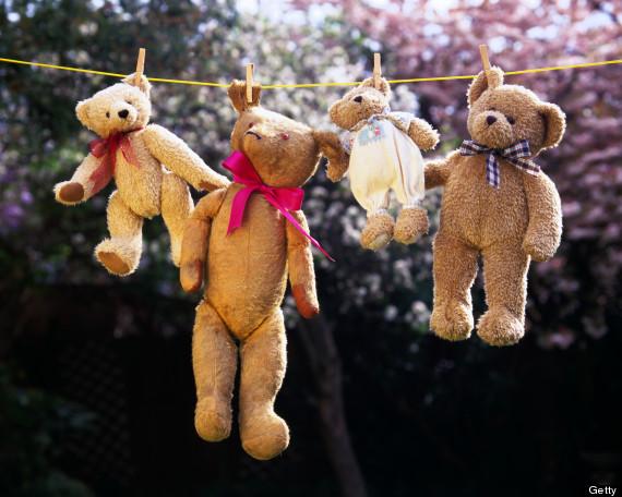 mean teddy bear